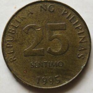 Philippines 1995 25 Sentimos coin