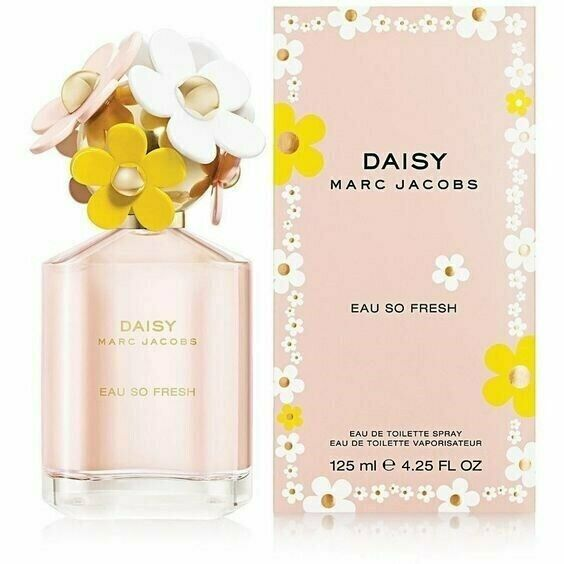 Daisy Eau so Fresh Marc Jacobs 4.2 oz EDT spray Womens Perfume New in Retail Box