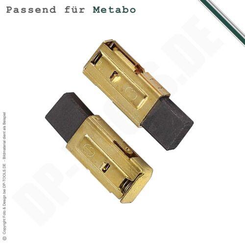 316046950 avec support Balais Charbon Charbon Moteur Charbon Pour Metabo 5x10mm Nº