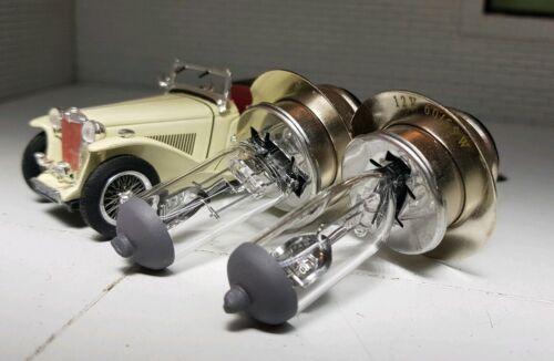 Triumph Herald TR TR3a BPF LLB414 Halogen Conversion Headlight Headlamp Bulbs x2
