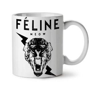 Tiger Face Cool Animal NEW White Tea Coffee Mug 11 oz | Wellcoda