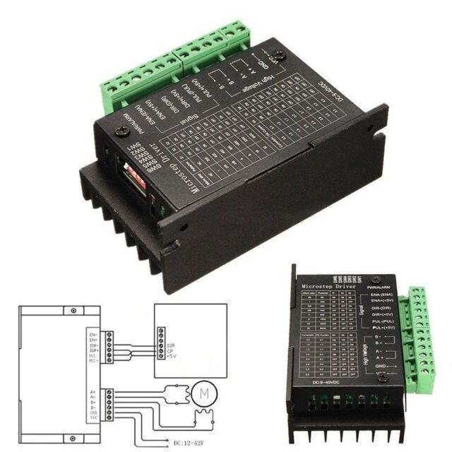 Single TB6600 Stepper Motor Driver Controller Micro-Step CNC Axis 2/4 Phase LJP