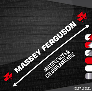 Massey-Ferguson-with-Badge-Both-Sides-Sticker-Decal-Multiple-Colours-amp-Sizes