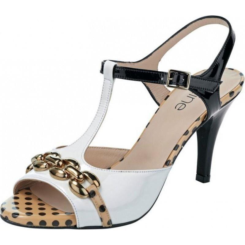 Elegante Heine Sandalo Vera Donna Scarpe da Sandalo sera in Vera Sandalo Pelle   bf57c8