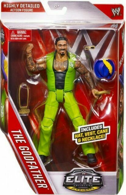 WWE MATTEL ELITE SERIES 39 The Godfather Wrestling Figure