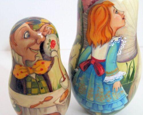 Peint À La Main One Of A Kind Poupées Russes Imbriquées   Peint À La Main One Of A Kind Poupées Russes Imbriquées