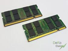 2x memoria RAM 2gb   4gb   per HP Compaq nx8420, nx7400, nx7300, 2510p