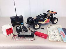 RARE Vtg 1984 YONEZAWA Wavehunter THUNDER RC Car SET Toy R/C JAPAN Remote 80s