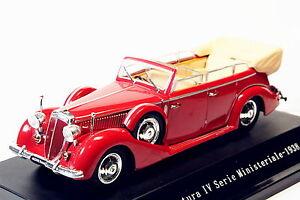 Starline-1-43-Lancia-Astura-ministeriale-IV-serie-1938-Rojo