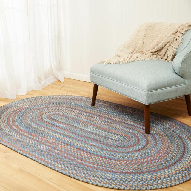 Urban Wool Blend Flat Braided Rug 2 X