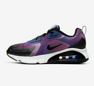 Nike Air Max 200 SE CK2596-400 Vivid Purple Blue White Women's Lifestyle  Shoes | eBay