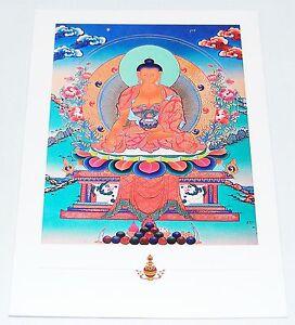 Sélection merveilleux cartes postales bouddhiste divinités * dalaï-lama bouddha  </span>