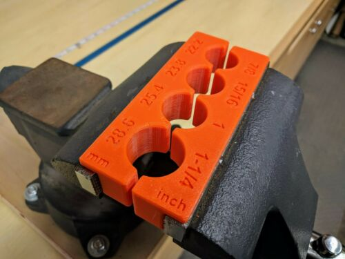 Holder for Most Shocks With Magnets Block Suspension Vise Soft Jaw Clamp
