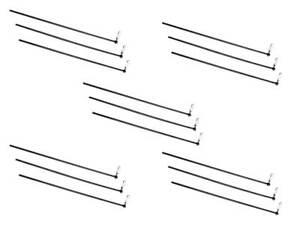 5 x Libération Rapide Connecteurs grossiers à pêche Bank Sticks garder les filets