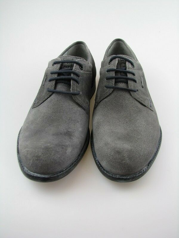 Fretz Men Herren Halbschuh grau Gore-Tex Leder mit herausnehmbarer sohle  Gr. 42