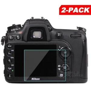 2x Tempered Glass Screen Protector for Nikon D7200 D7100