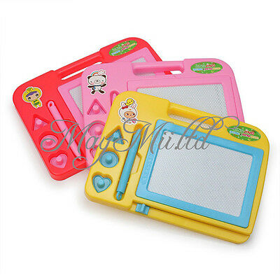 Magnetic Drawing Board Sketch Pad Doodle Writing Craft Art for Children Kids JC