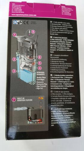 Newa Duetto filtro interno DJ100W Para Acuario Max 80L