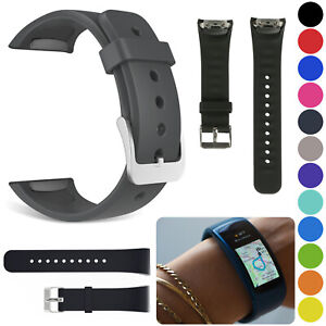 Silicone-Replacement-Wrist-Band-Strap-Bracelet-For-Samsung-Gear-Fit-2-SM-R360