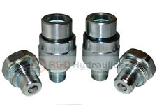 2 Pair 10000 Psi Hydraulic Quick Coupler For Enerpac Style C 604