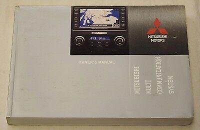 MITSUBISHI MMCS MULTI COMMUNICATION SYSTEM HANDBOOK OWNERS MANUAL