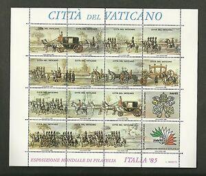 VATICANO-1985-FOGLIETTO-IPZS-VATICANO-ESPOSIZIONE-MONDIALE-FILATELIA-ITALIA-039-85