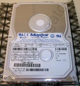 Image Is Loading Maxtor 4 3GB 4300MB IDE ATA Internal Hard