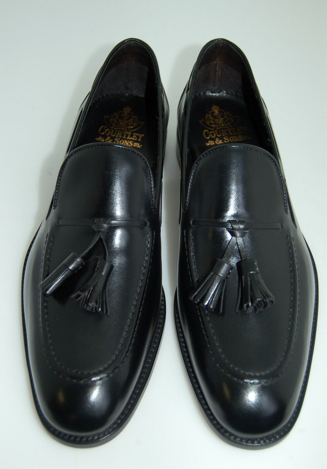 MAN - TASSLE SLIPON-schwarz SLIPON-schwarz SLIPON-schwarz CALF-MOCASSINO VITELLO schwarz- LEATHER SOLE-BLAKE CSTN 8c2423
