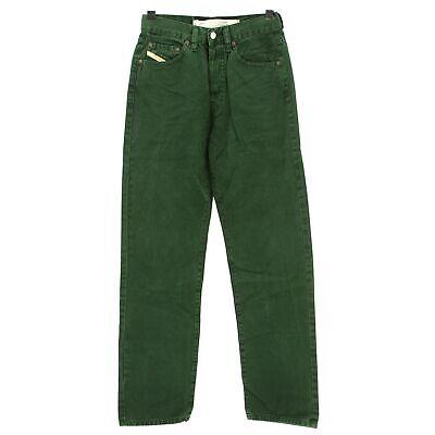#4031 Diesel Jeans Uomo Pantaloni Cheyenne 360 Gabardine Aroma Di Bosco 28/32-