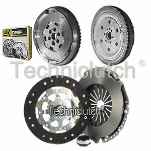 NATIONWIDE 3 PART CLUTCH KIT AND LUK DMF FOR CITROEN C3 PICASSO MPV 1.6 HDI