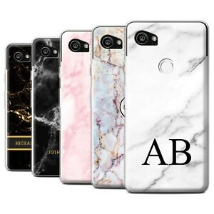 wholesale dealer c4dab 9a58d Personalised Custom Marble Case for Google Pixel 2 XL/Initial Gel ...