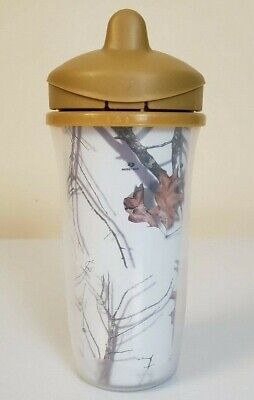 NEW bpa free MOSSY OAK 3-pack SIPPY CUPS 18mths CAMOUFLAGE