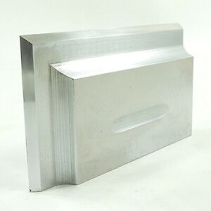 """Beveled Knive Edged Square 90° Reference Tool Maker Made 5-5/16""""x3""""x1"""" Machinist"""