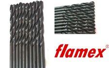 KLOT 10pcs HSS Titanium Coated Professional Twist Drill Bit 0.5mm-6.0mm XY 6542