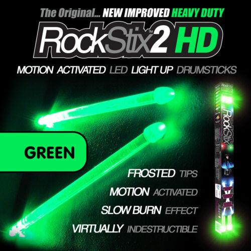 3 paires de rockstix Lumière LED pilons firestix Mélange couleurs -