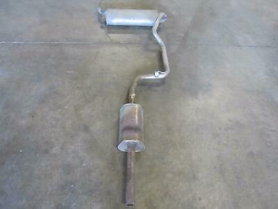 16 ford focus muffler exhaust catback cat back oem factory pipe resonator ebay
