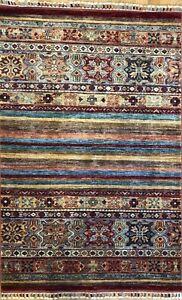 Super Kazak Rug Tribal Jajim Carpet