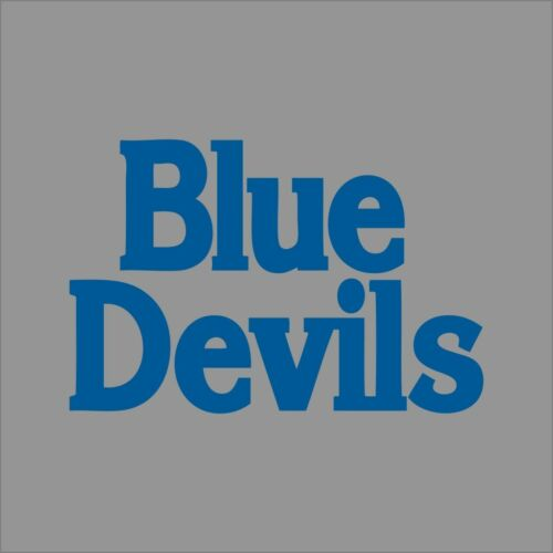Duke Blue Devils #6 NCAA College Vinyl Decal Sticker Car Window Wall