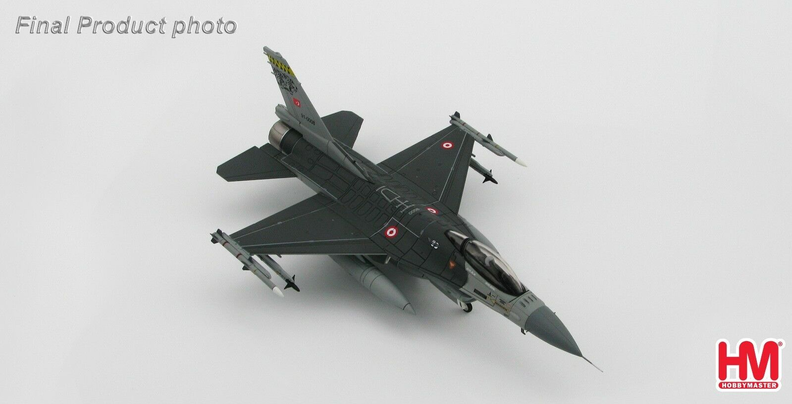 Hobby Master HA3840 1 72 F-16C Fighting Falcon Turkish Air Force MIG Killer