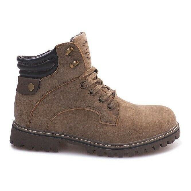 Warm boots A177-8 Brown