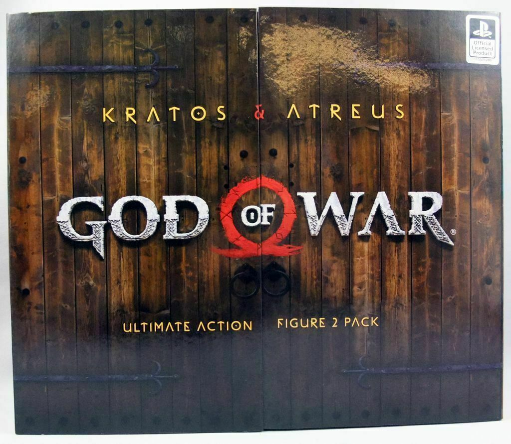 Neca God of War 2018  Ultimate Kratos and Atreus 2er-pack