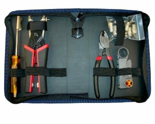 Platinum Tools 90134 SealSmart PRO Compression Coax Kit, w Zip Case