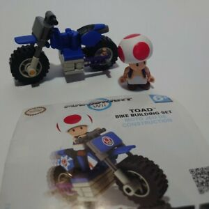 Toad-Nintendo-Wii-K-nex-Mario-Kart-Bike-Building-Set-Incomplete