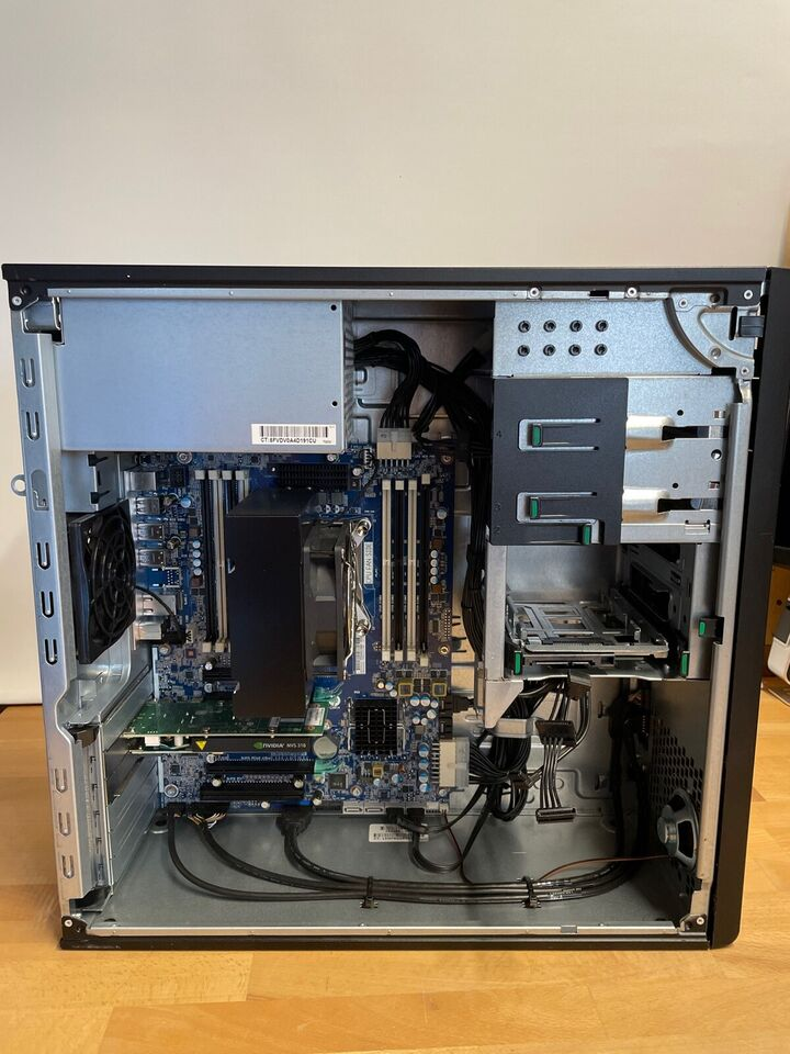 HP, Z440, 3,8 Ghz