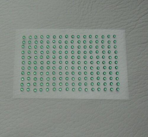 176 x 2mm 3mm or 4mm Self Adhesive Stick on Rhinestones Gems