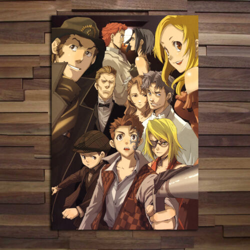 Japanese Anime Poster Baccano Anime Poster High Quality Prints