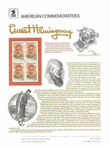 334-25c-Ernest-Hemmingway-2418-USPS-Commemorative-Stamp-Panel