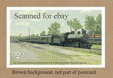 Atlanta & West Point Railroad EN ROUTE THE NY & NO LTD  SEE AL GA  DEPOT STATION