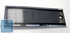 1964-67 GTO / LeMans Manual or Automatic Rear Console Box Door Lid Chrome