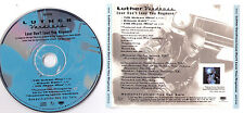 Luther Vandross Love Don't Live Here Anymore US promo CD single 1997 Tony Moran